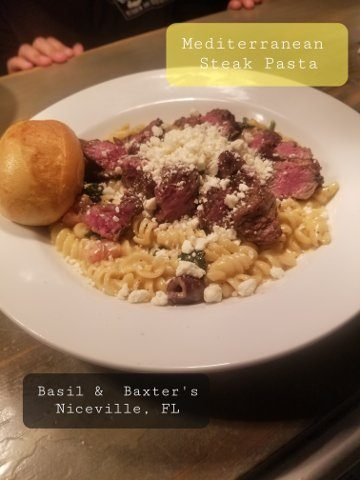 Med Steak Pasta